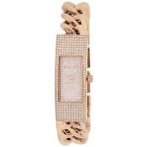 Michael Kors Hayden Rose MK3307 Crystal Pave Watch